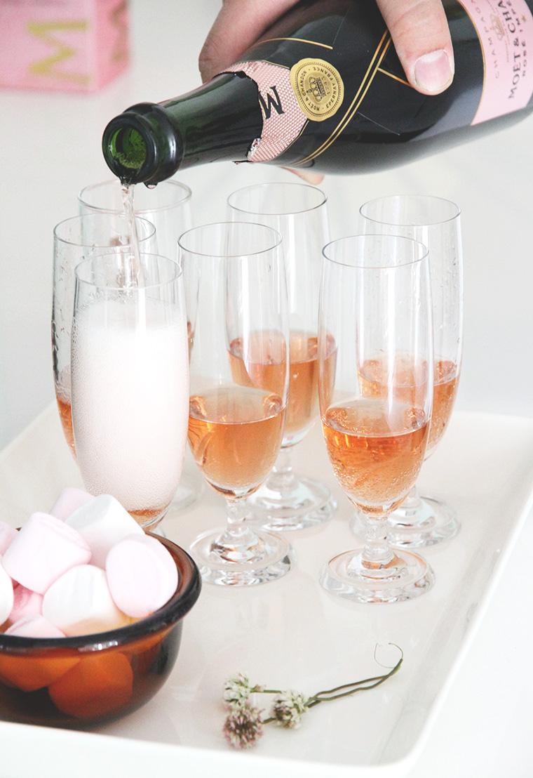 moet shampanja hunaja