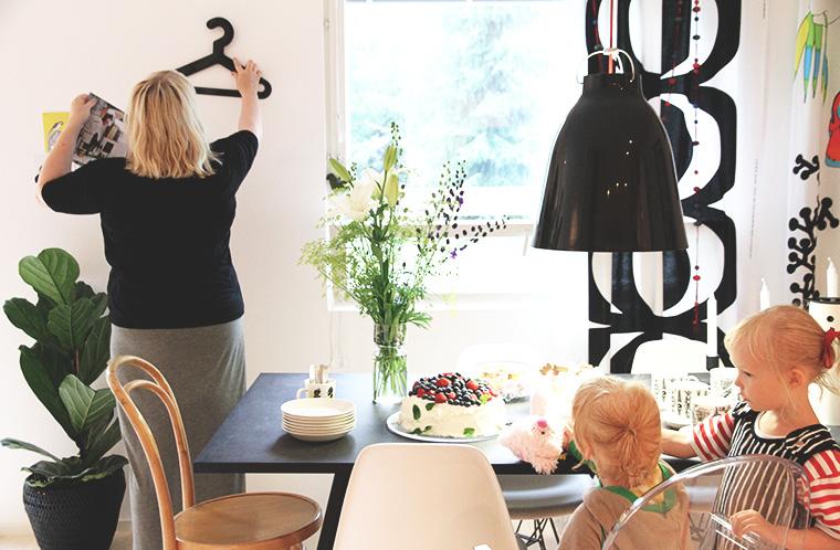 elsa oi mutsi mutsi ottaa lehden hay kitchen decoration deko lehti