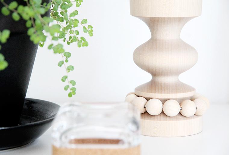kynttilanjalka aarikka arvonnassa hunajaista blogissa