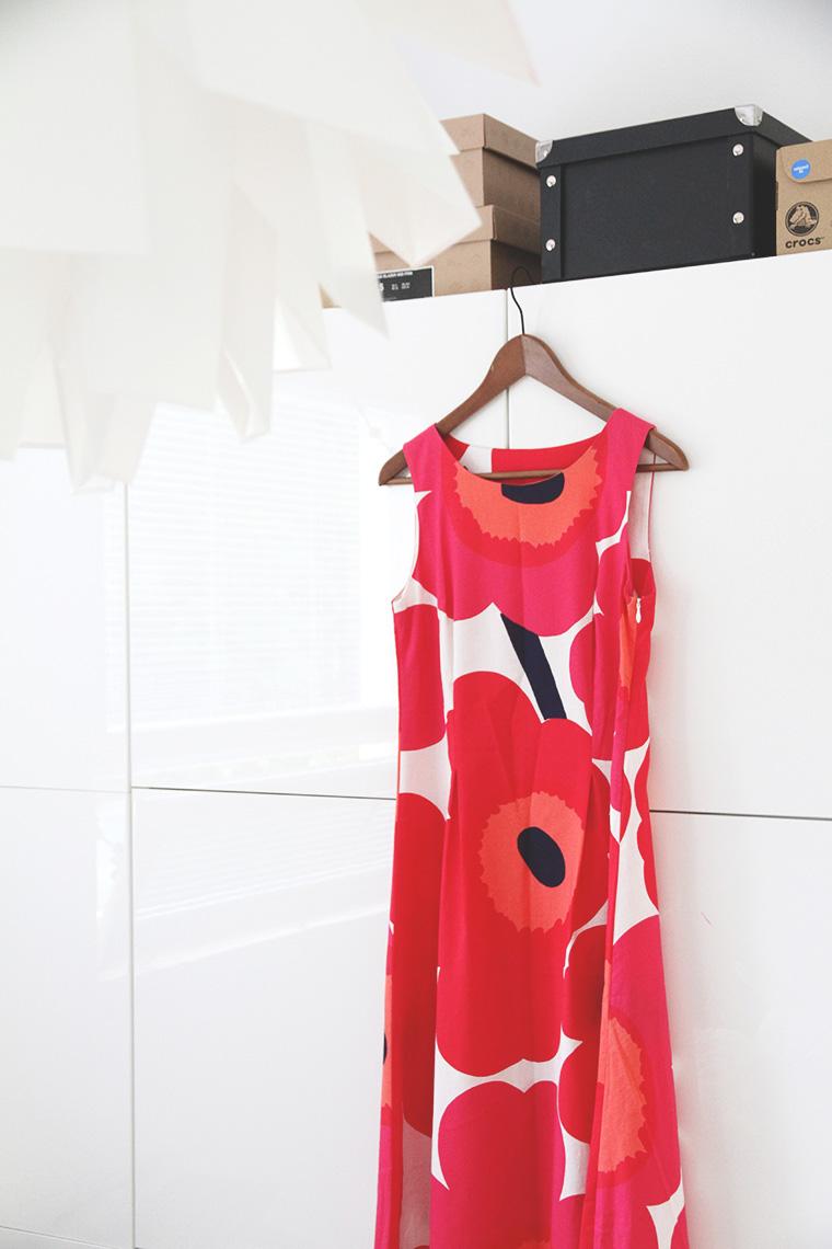 punainen unikko mekko trendi hunajaista syksy 2013 ... 9a2cefb60e