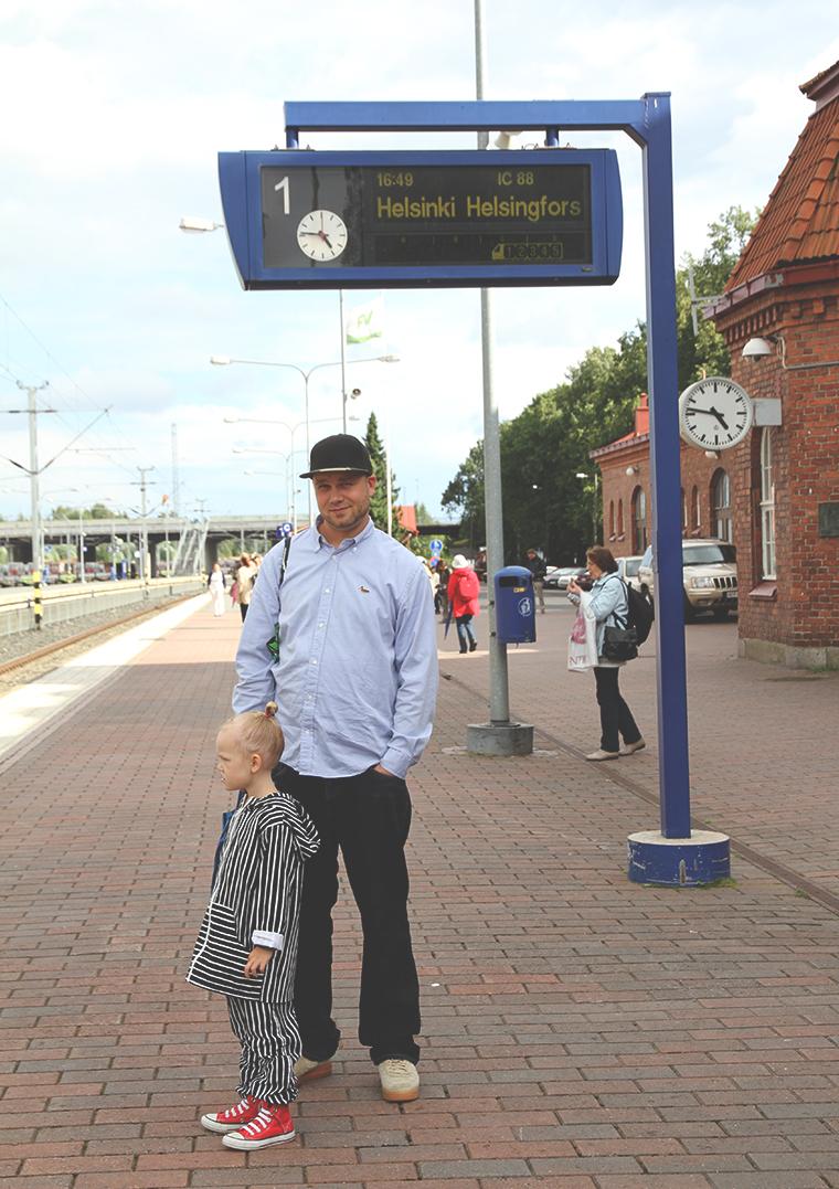 rautatieasemalla hameenlinna