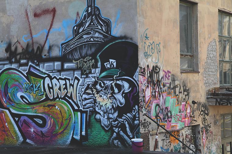 suvilahti graffiti hunajaista