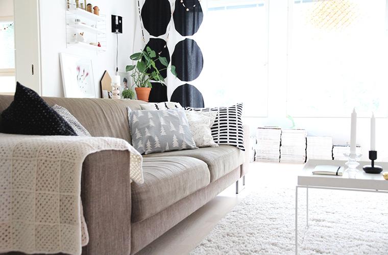 fine little day hunajaista sohva pillowcase interior decoration finnish home