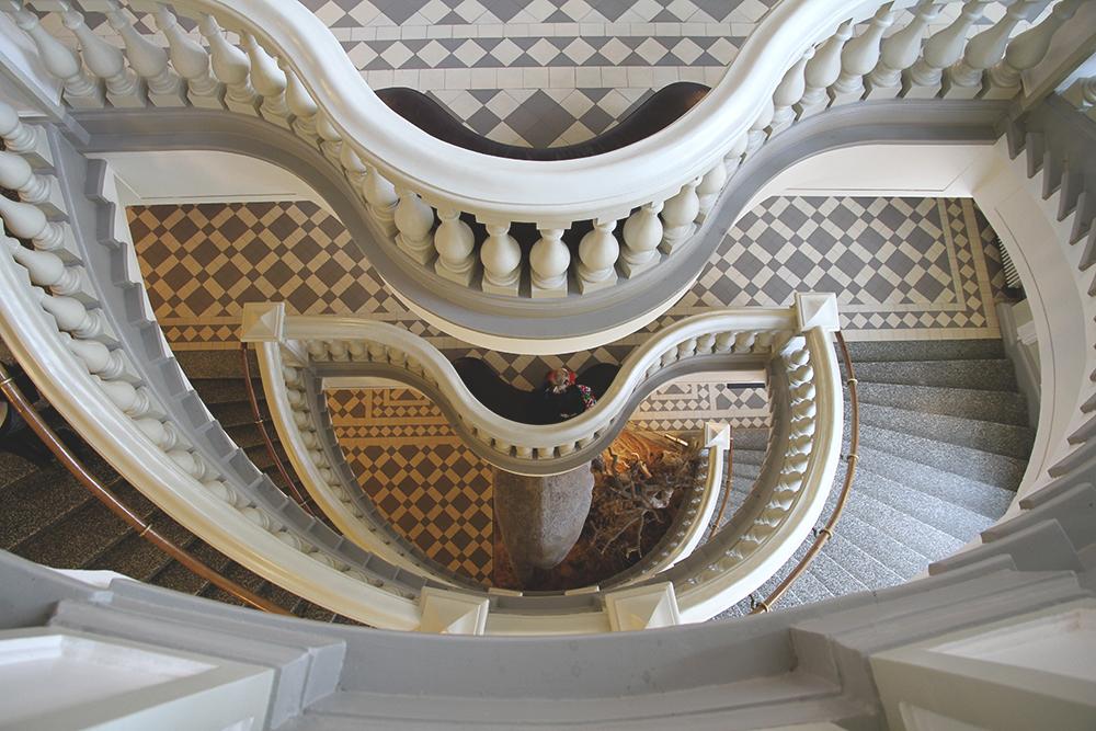 STAIRCASE HUNAJAISTA LUONNONTIETEELLINEN MUSEO