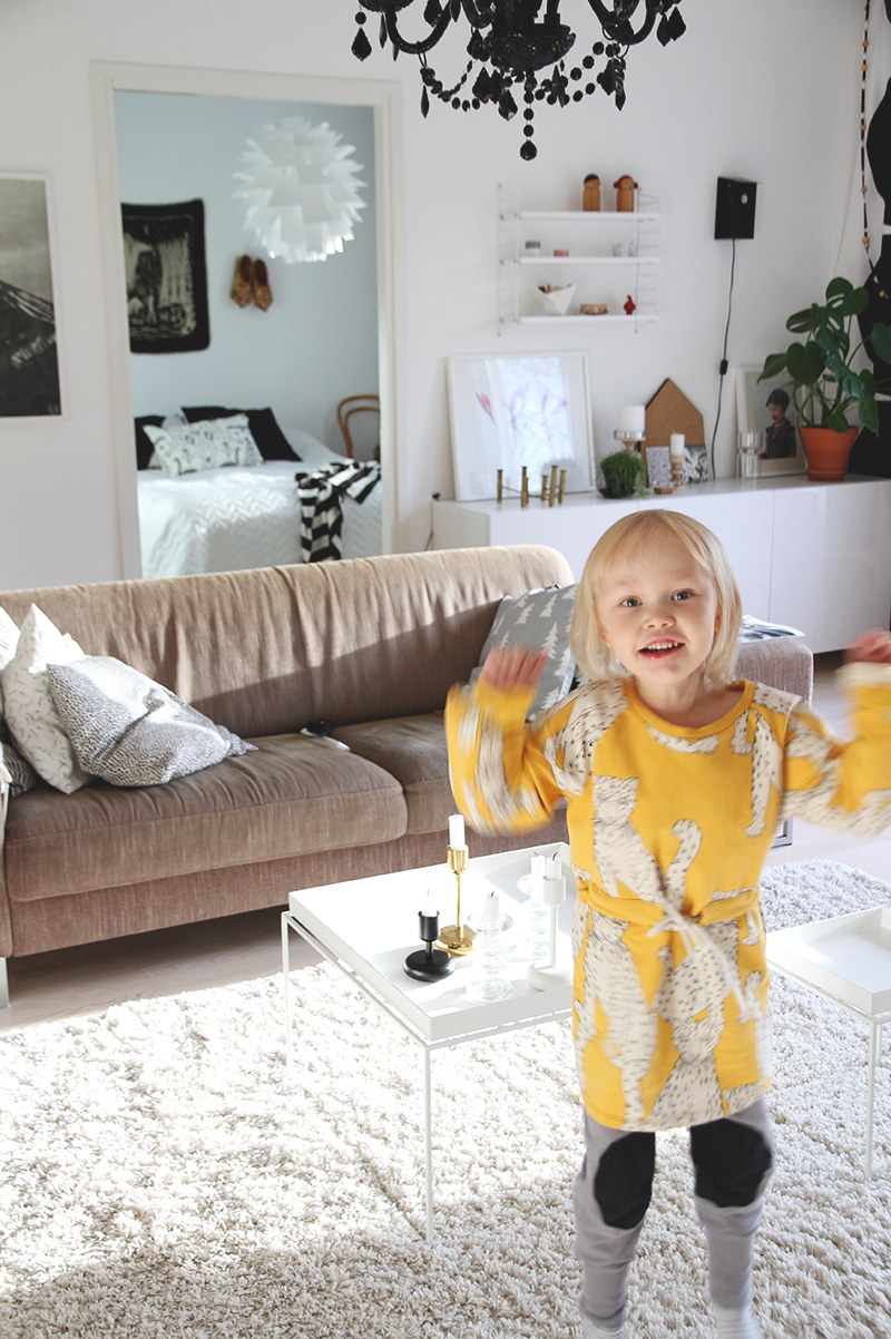 hunajaista siiri mini rodini livingroom olohuone sisustusblogi