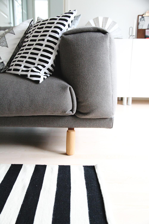 hunajaista sisustusblogi muuto rest sohva