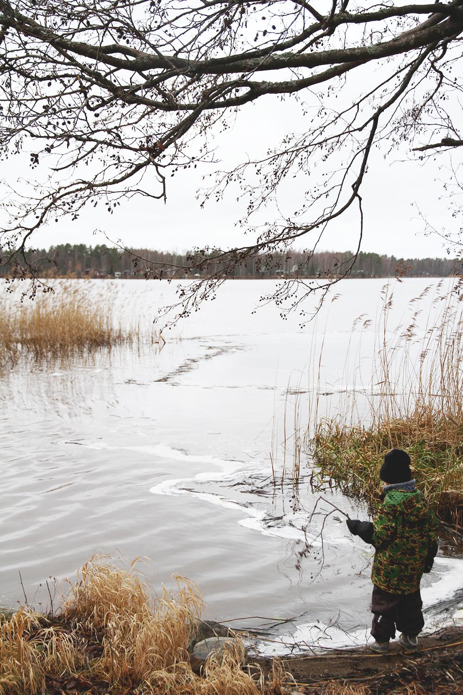 siiri kalastaa mokilla mini rodini reima