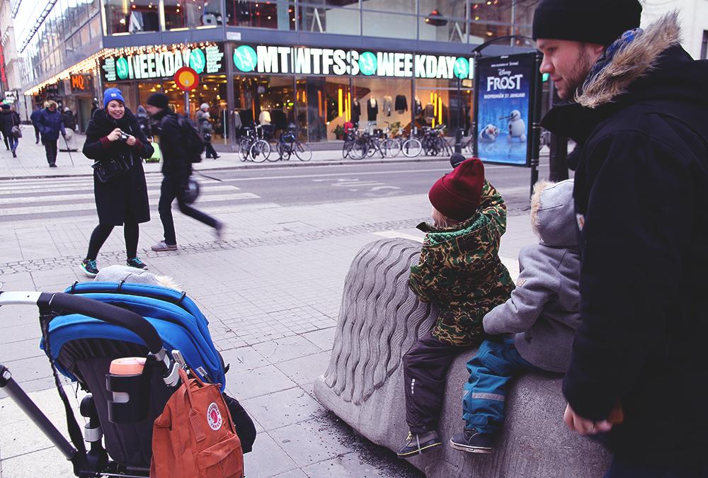drottninggatan visit sweden hunajaista mami go go minttu lapset ruotsi tukholma stockholm blogger