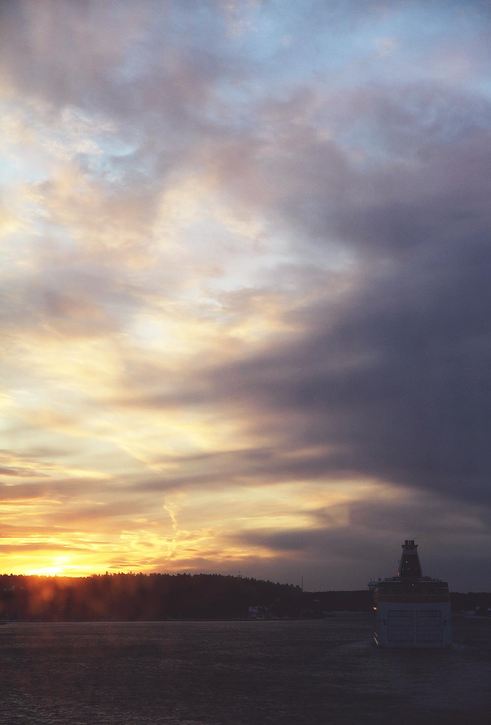 hunajaista auringonnousu photography viking line gabriella