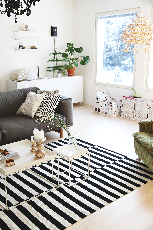 hunajaista olohuone livingroom finnish home decoration hay muuto rest sofa