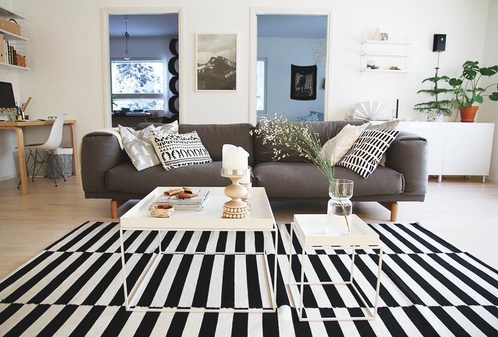 hunajaista olohuone livingroom hay muuto rest sofa aarikka