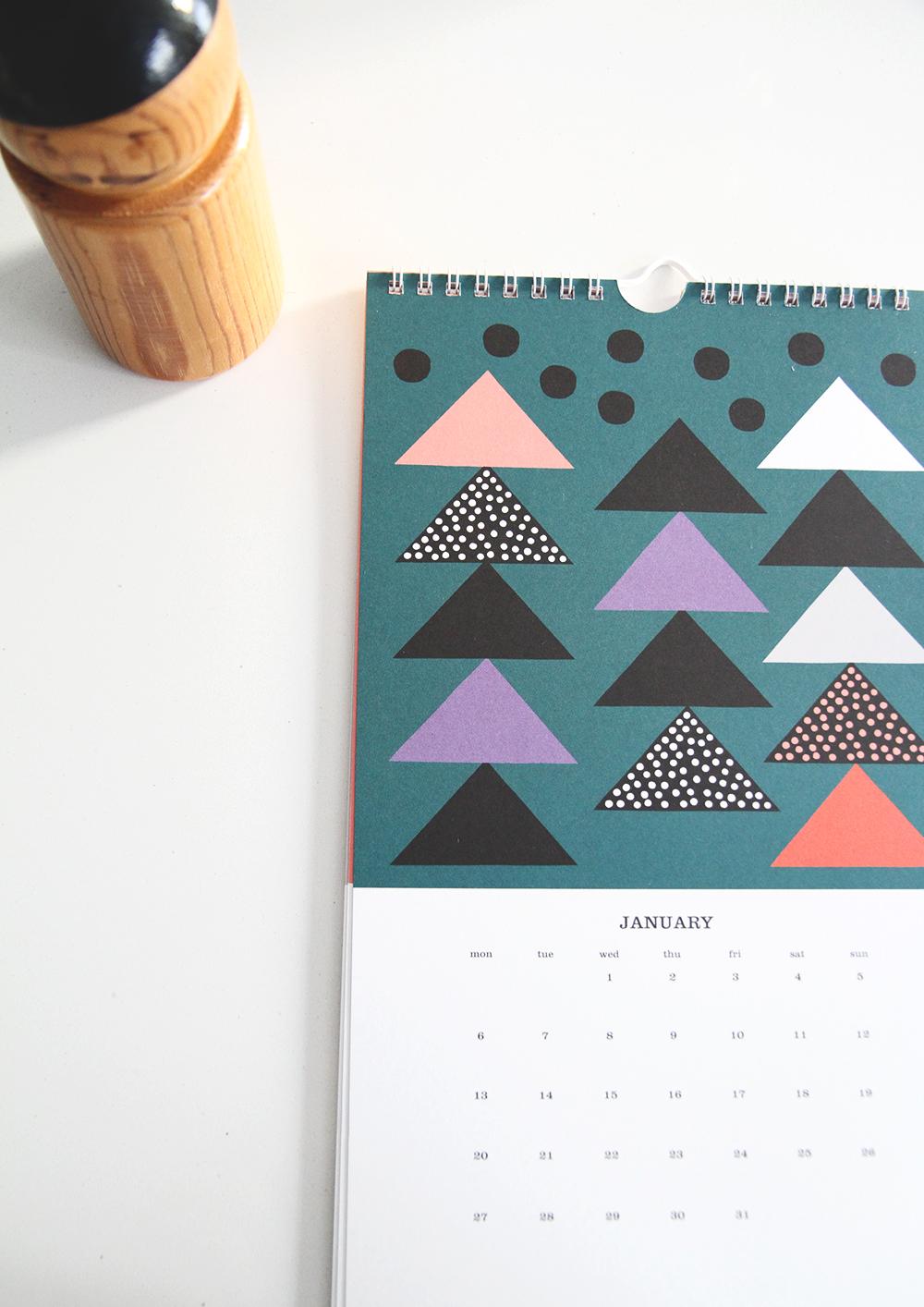 kauniste kalenteri 2014 hunajaista sisustusblogi aarikka pippurisirotin