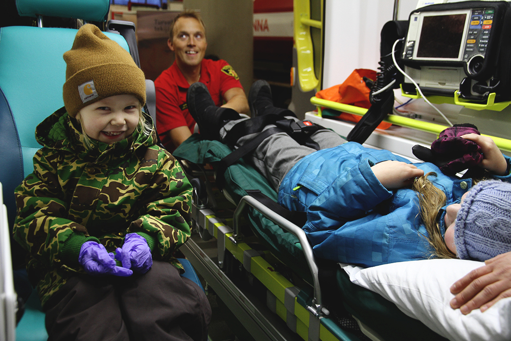 hunajaista blogi 112 paiva ambulanssissa