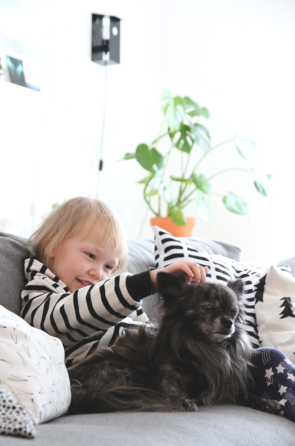 makia siiri lastenvaatteet hunajaista onni chihuahua blogi koirat