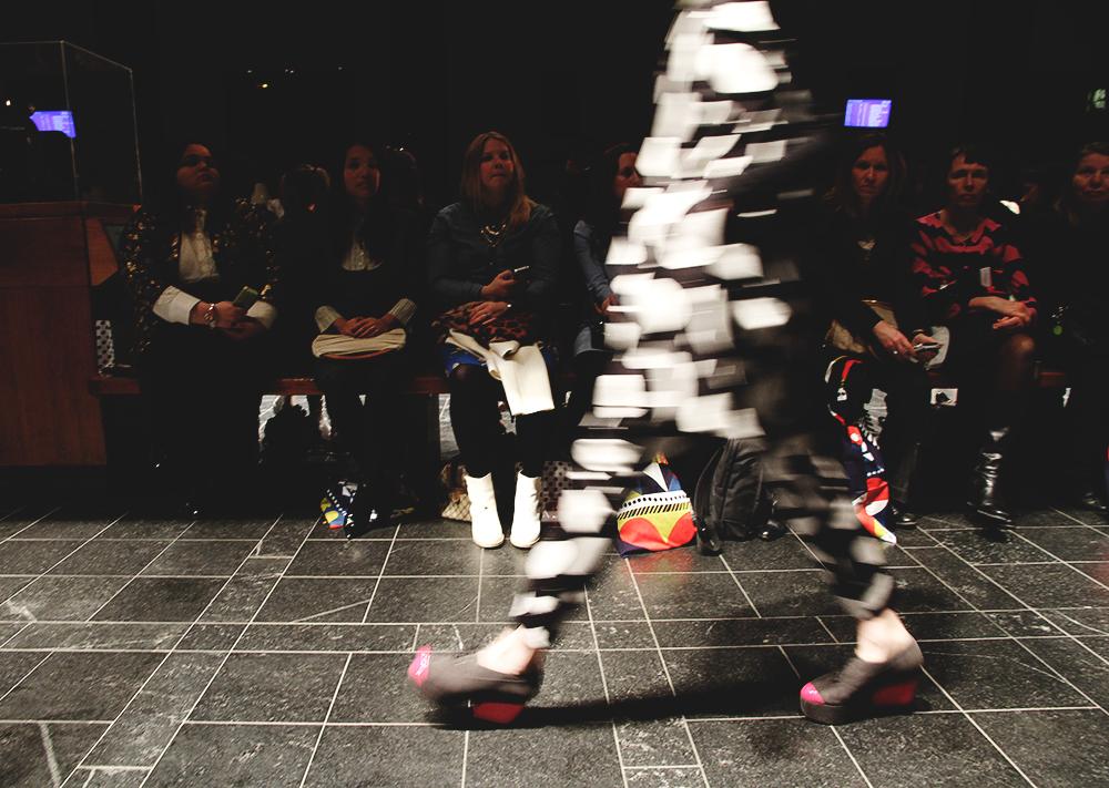 hunajaista marimekko muotinaytos fashion show runway fall winter 2014 blog