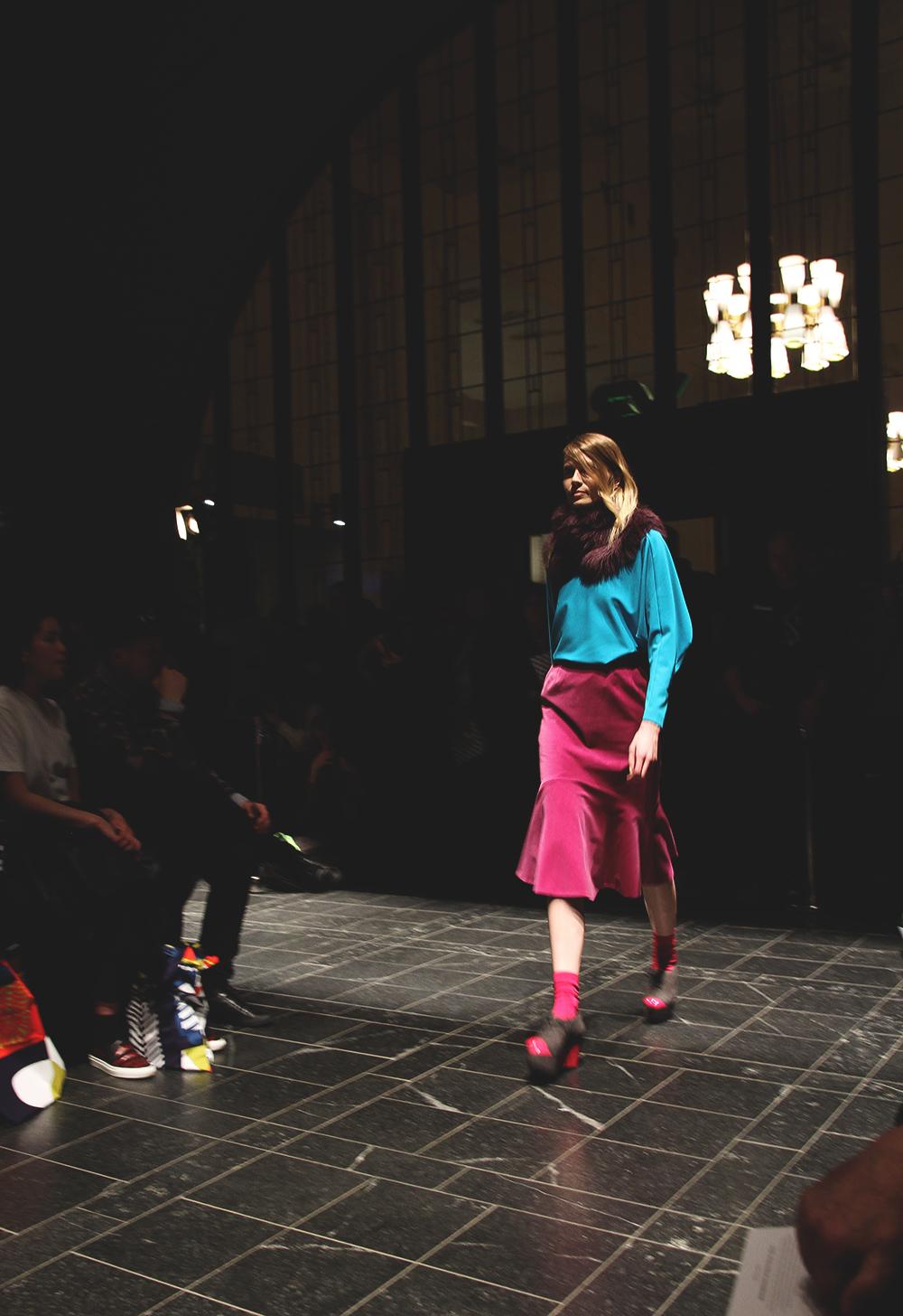 marimekko aw2014 fall winter fashion blog hunajaista runway