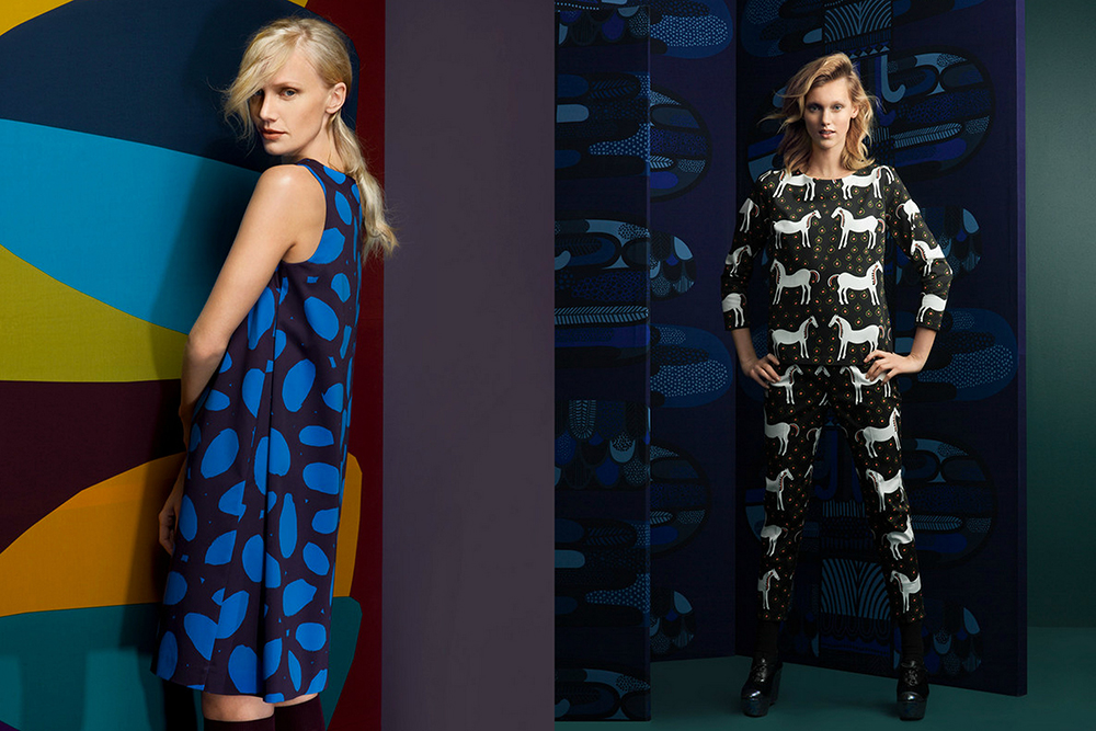 marimekko fashion finland fall winter hunajaista 2014
