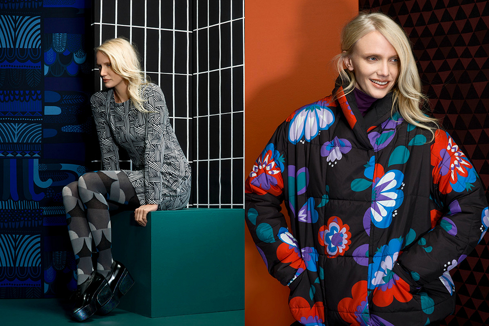 marimekko hunajaista kollaasi look book fall winter 2014