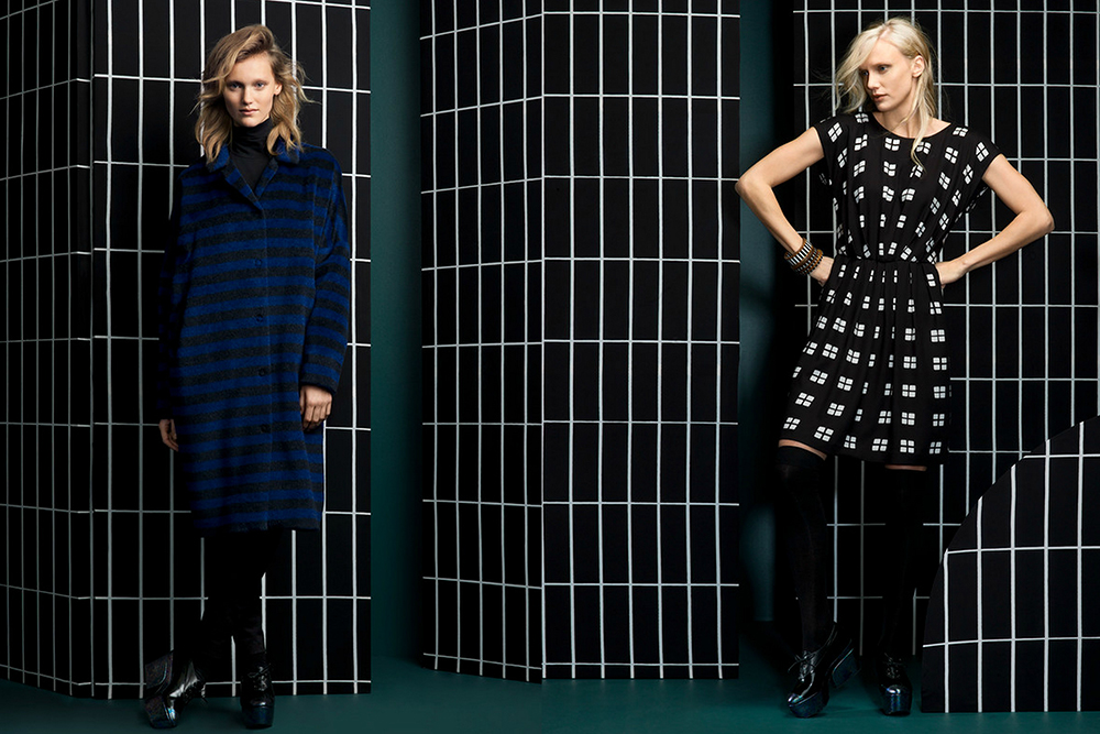 ruutu marimekko fashion hunajaista fall winter collection fashion