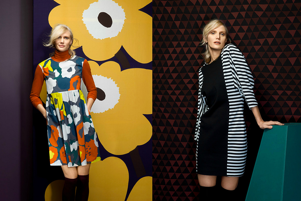 tasaraita unikko marimekko fashion collection fall winter 2014