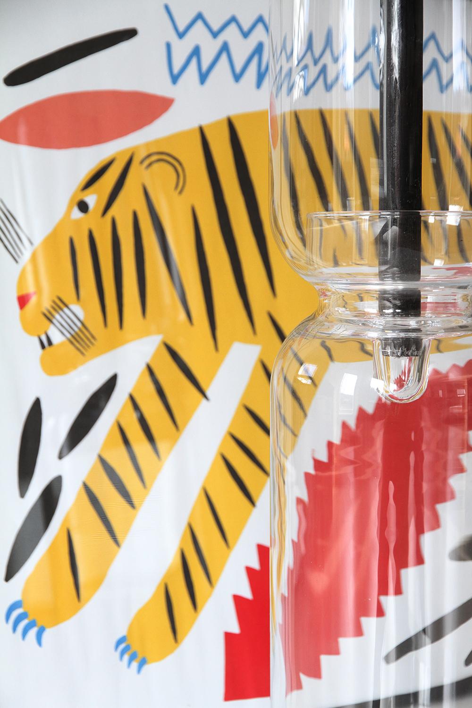 tiikeri hunajaista marimekko lantern iittala