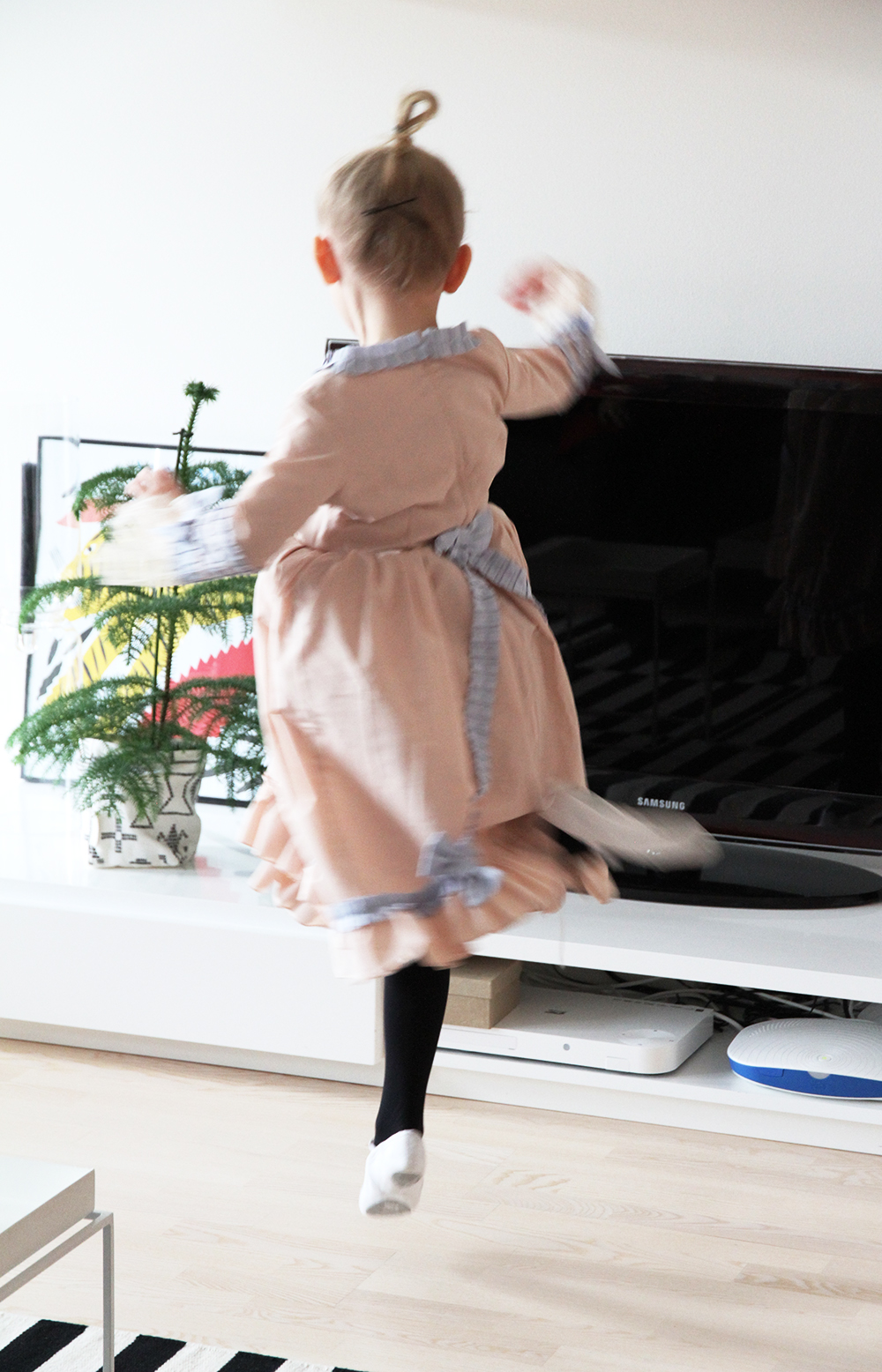 hunajaista siiri tanssii balettia