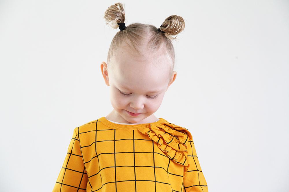 mainio clothing hunajaista ruutupaita