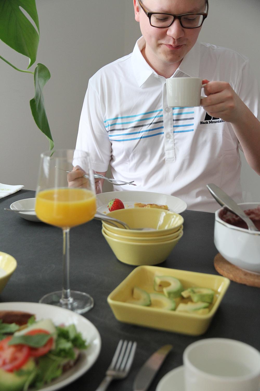 arla aamiaiskutsu hunajaista kapa