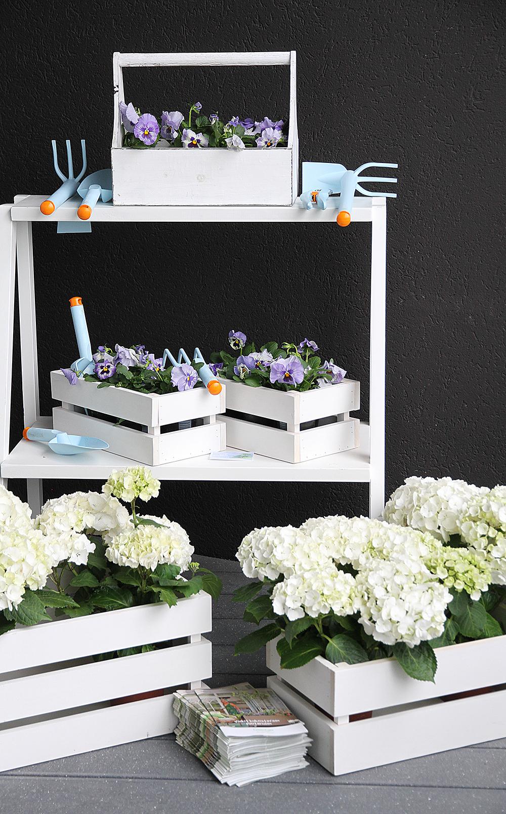 fiskars uutuus 2014 kevat hunajaista sisustusblogi parveke hortensia stailaus