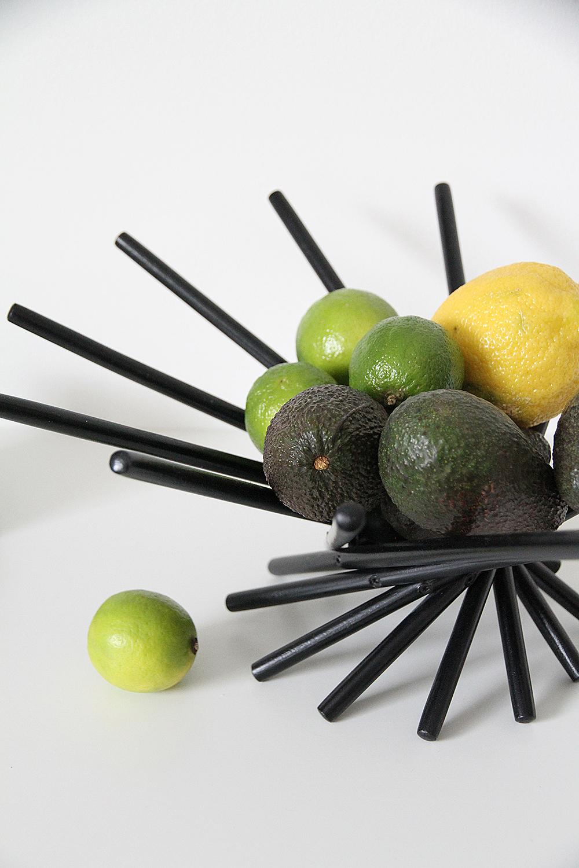 hunajaista sisustusblogi hedelmakulho