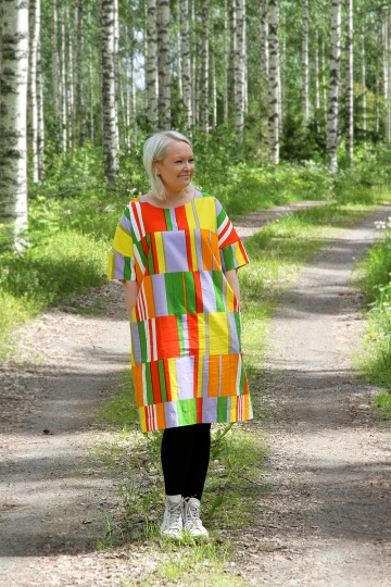 hunajaista riikka marimekko outfit of the day fashion style