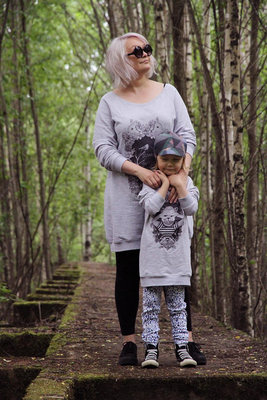 hunajaista siiri ja riikka uhana design paidat tyyliblogi