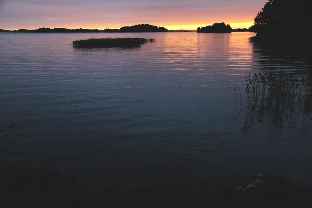 HUNAJAISTA SUNSET KITEE FINLAND