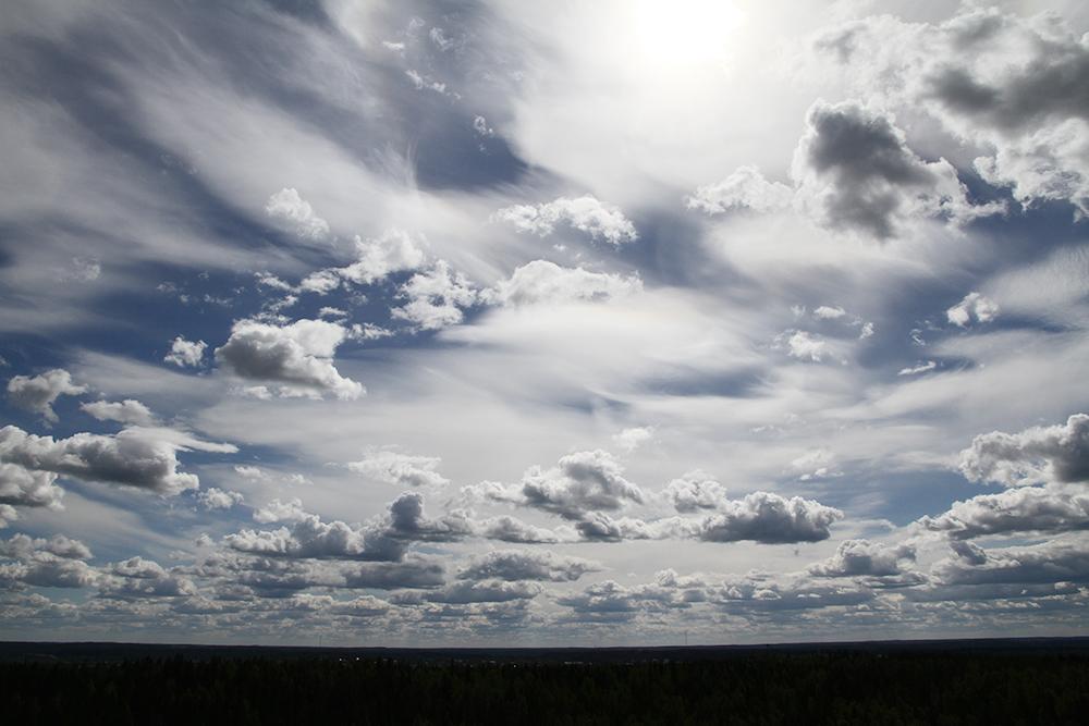 hunajaista taivas aulanko