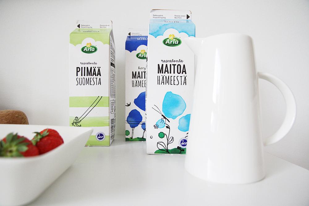 maitoa hameesta hunajaista blogi arla