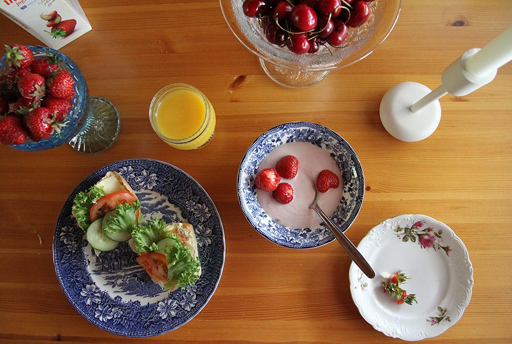 aamupala arla ihana jogurtti hunajaista