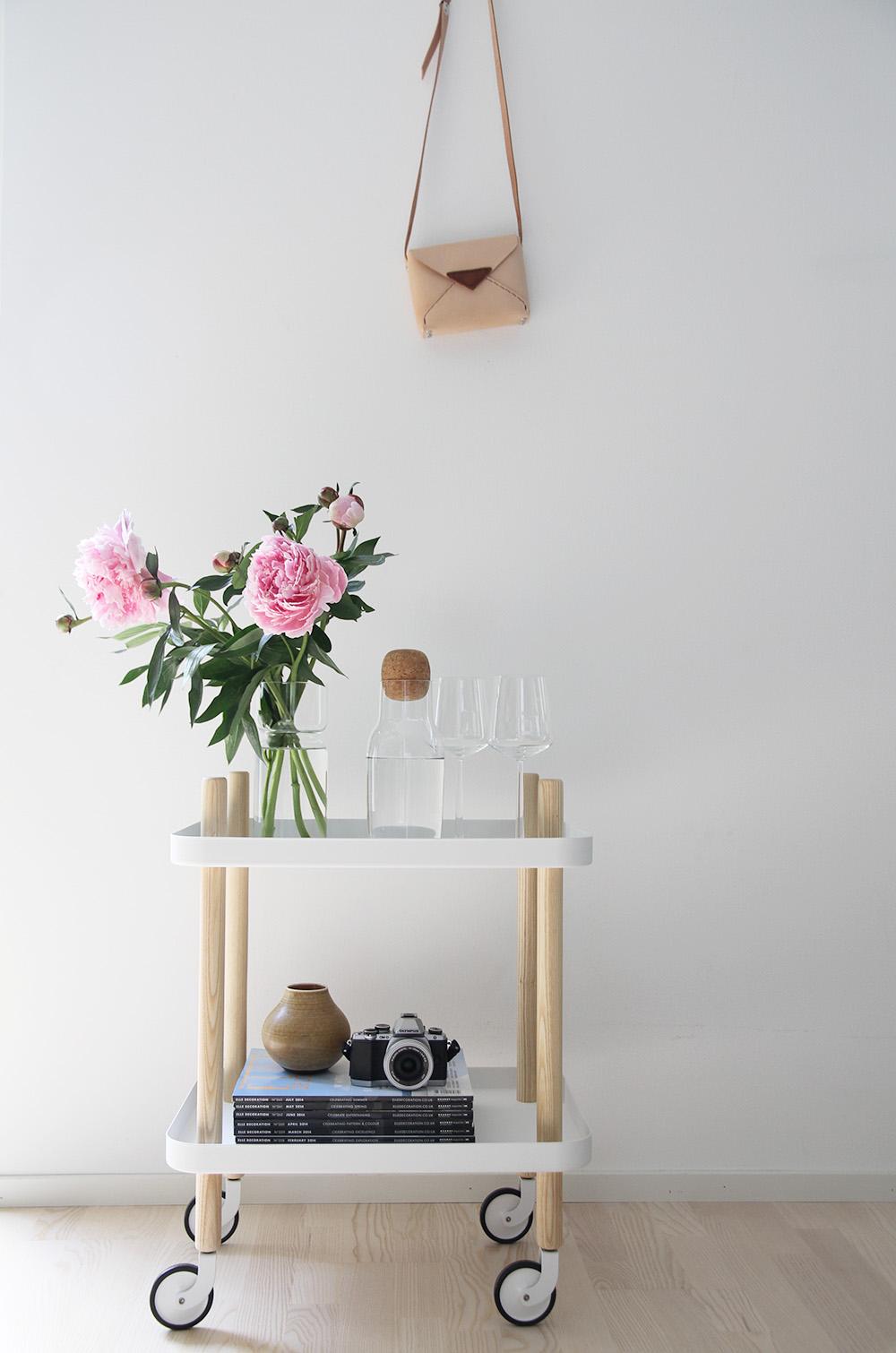 hunajaista block tarjoiluvaunu finnish design shop