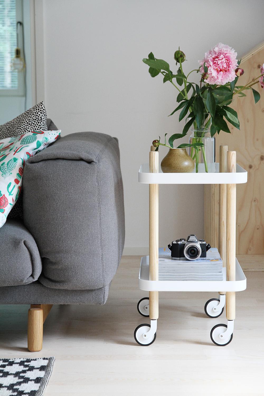 hunajaista finnish design shop arvonta giveaway block tarjoiluvaunu normann copenhagen blogi