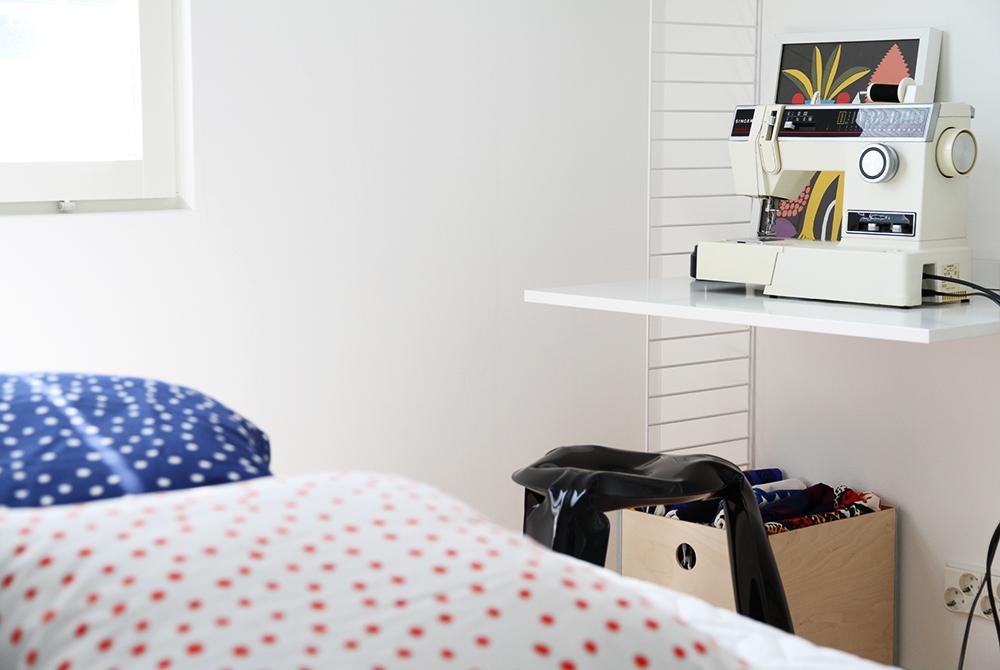 hunajaista home koti blog interior workspace tyopiste makuuhuone bedroom