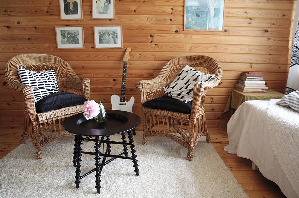 hunajaista kesamokki sisustusblogi blog interior decoration