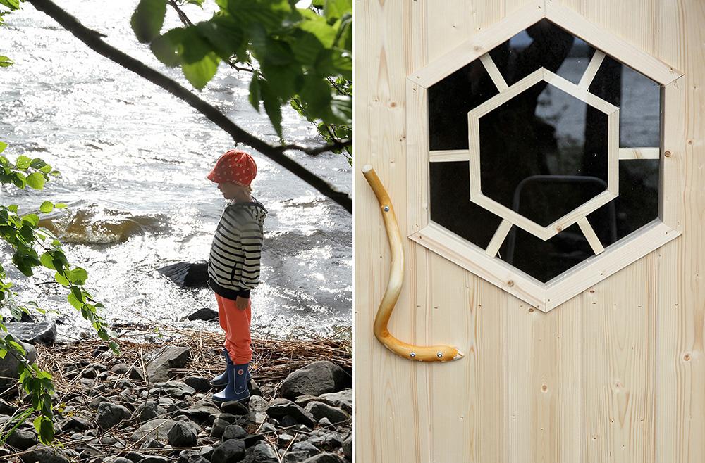 hunajaista kitee mokilla kodan ovi siiri rannalla
