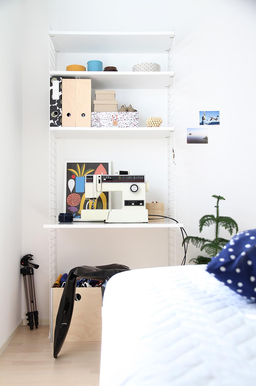 hunajaista makuuhuone bedroom home koti sisustusblogi sisustus interior decoration