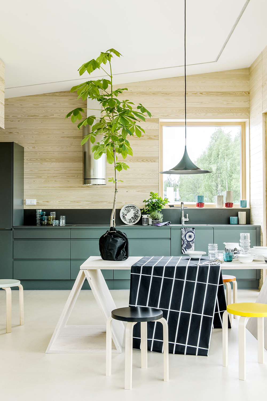 Hunajaista marimekko asuntomessut 2014 keittio kitchen finnish design home scandinavian