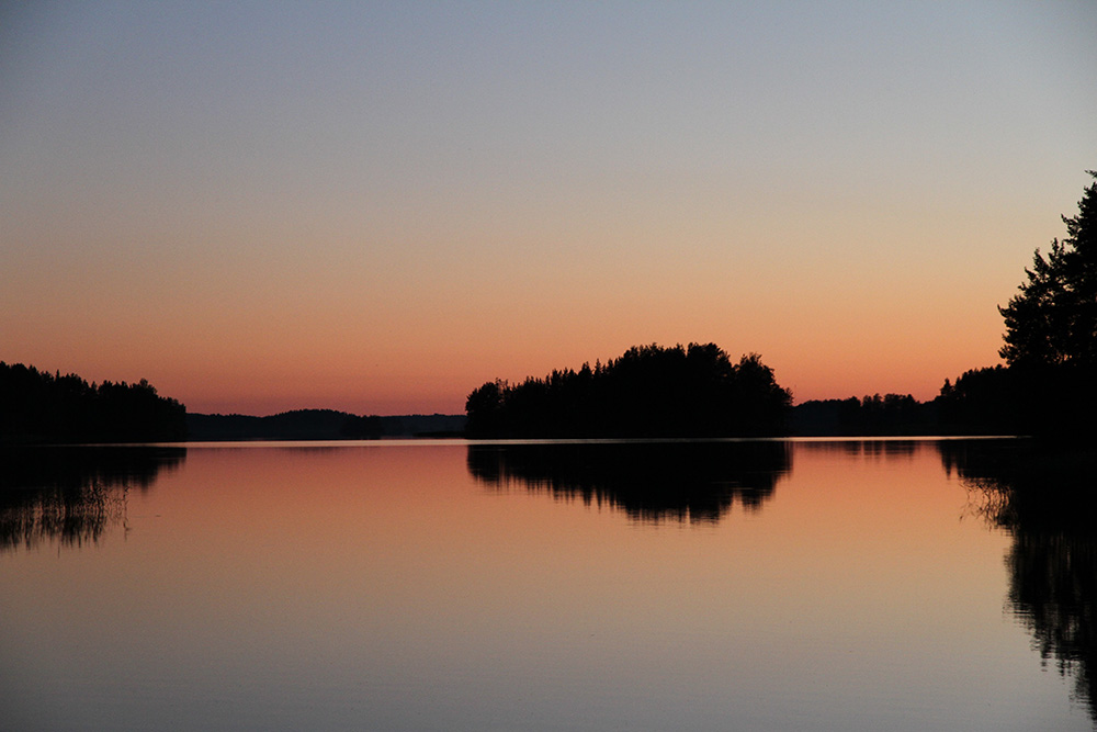 hunajaista sunset suomi finland