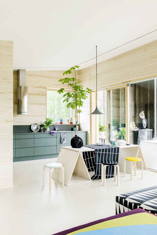 marimekko keittio hunajaista messuraportti 2014 asuntomessut scandinavian interior
