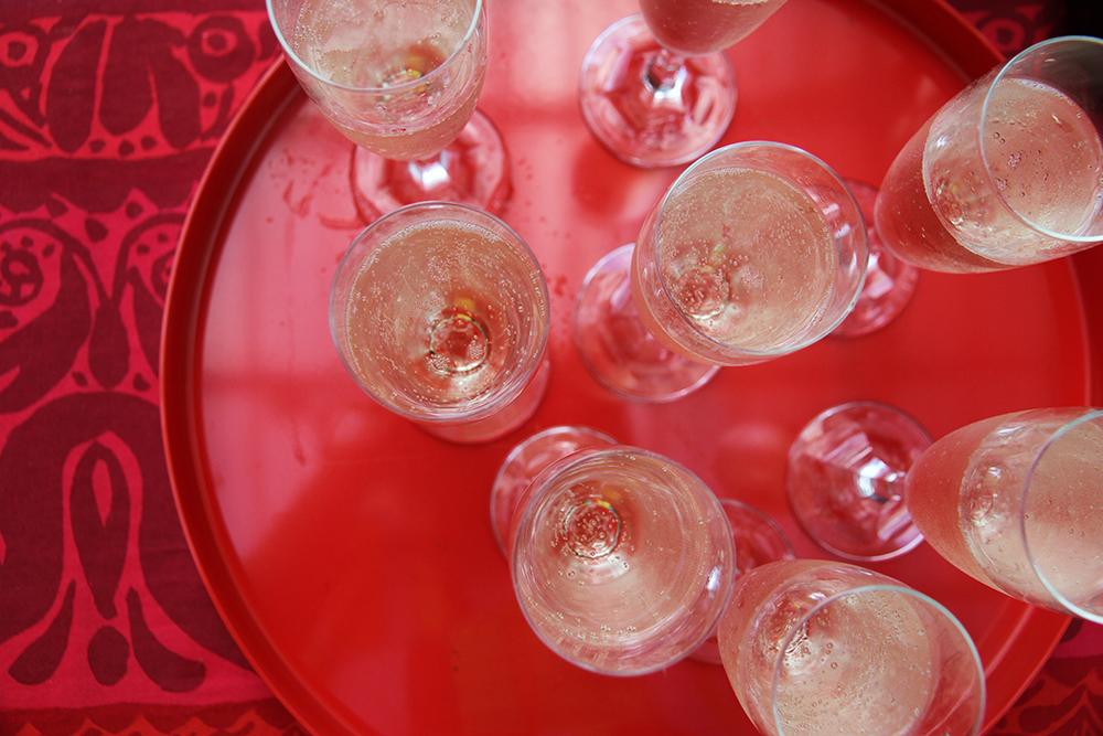 shampanjaa hunajaista
