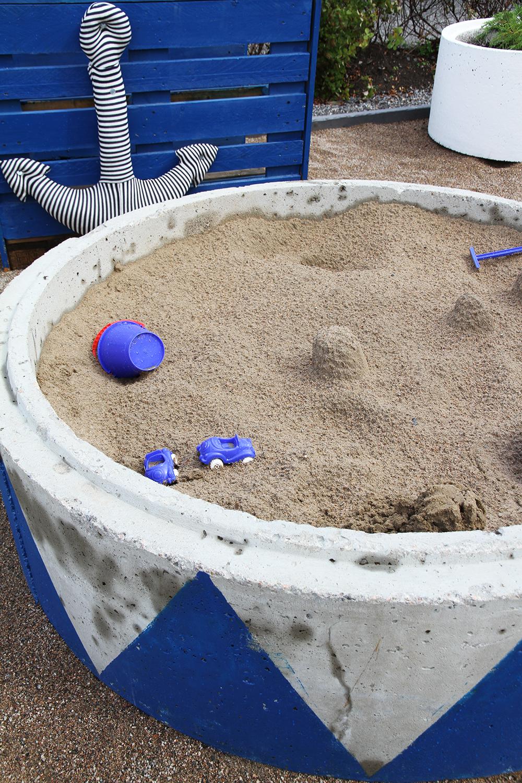 hiekkalaatikko hunajaista asuntomessut tuunattu