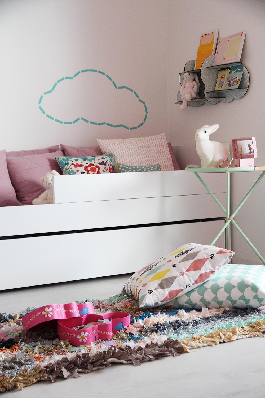 hunajaista asuntomessut tyton huone vaaleanpunainen sisustusblogi