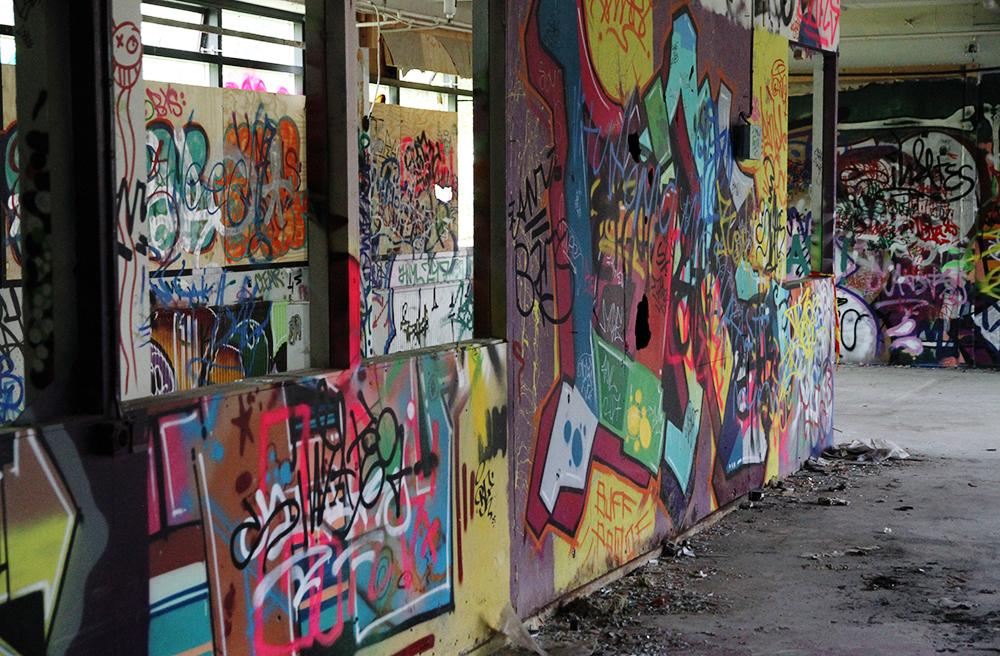 hunajaista graffiti galleria hameenlinna