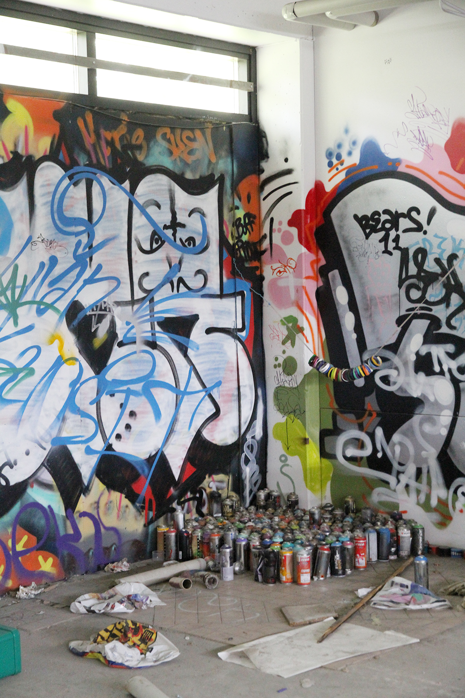 hunajaista graffiti